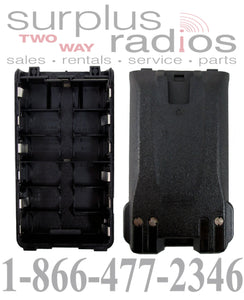 Alkaline BP263 battery case (holds 6 AA batteries) for Icom F3001 F4001 F3101D F4101D V80 T70A and more