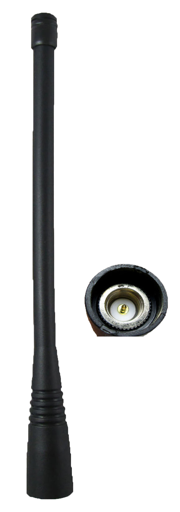 Antenna SMA UHF long whip AN160U for Vertex VX-160 XV-210 VX180 and more