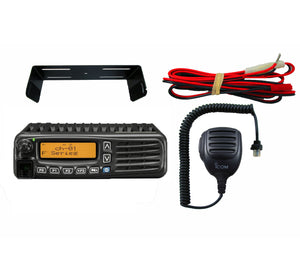 ICOM F6061 16 UHF 450-512mhz 45 watts 512 channels plus LTR channels mobile radio