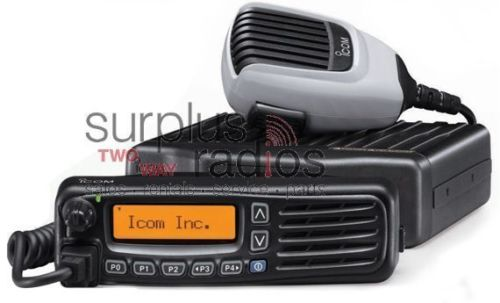 Icom F6061D 66 IDAS narrow band 45 watt UHF 450-512mhz analog and digital mobile radio with display and UT126 board
