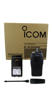 Icom IC-F2000 21 4 watt 16 channel UHF 450-512mhz two way radio