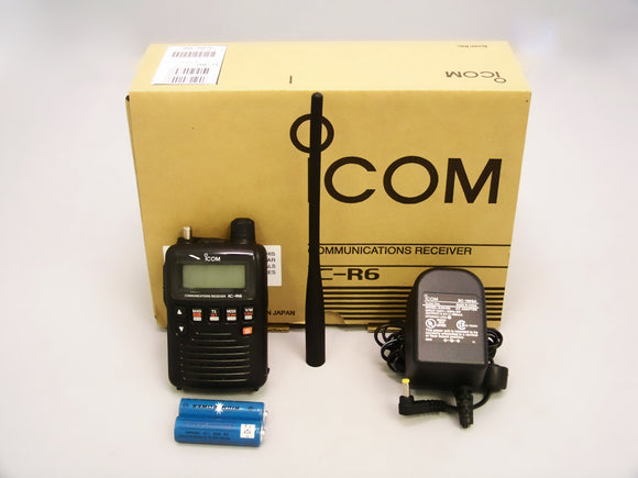 Icom IC-R6 R6 wide band UHF VHF scanner receiver