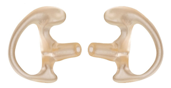 K-FLEX earpiece eartips pair earmolds for motorola kenwood Icom vertex headset