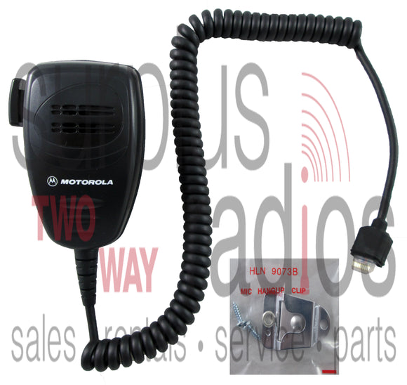 Motorola AARMN4025C mobile microphone with hang clip for CDM750 GTX CM200 PM400 CDM1250 CDM1550