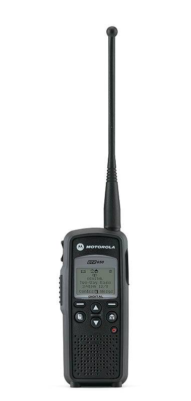 Motorola DTR650 900MHz ISM License-Free Band 150 Channel 1 Watt  Portable Digital Radio
