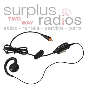Motorola HKLN4455A single pin PTT earpiece for CLP series
