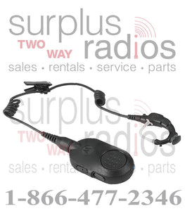 Motorola OEM NNTN8125C Bluetooth Headset with PTT XPR5550 Mobile Base Radio