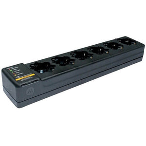 Motorola PMLN7101 Six-Pocket 6-Unit Multi-Unit Gang Charger for SL300