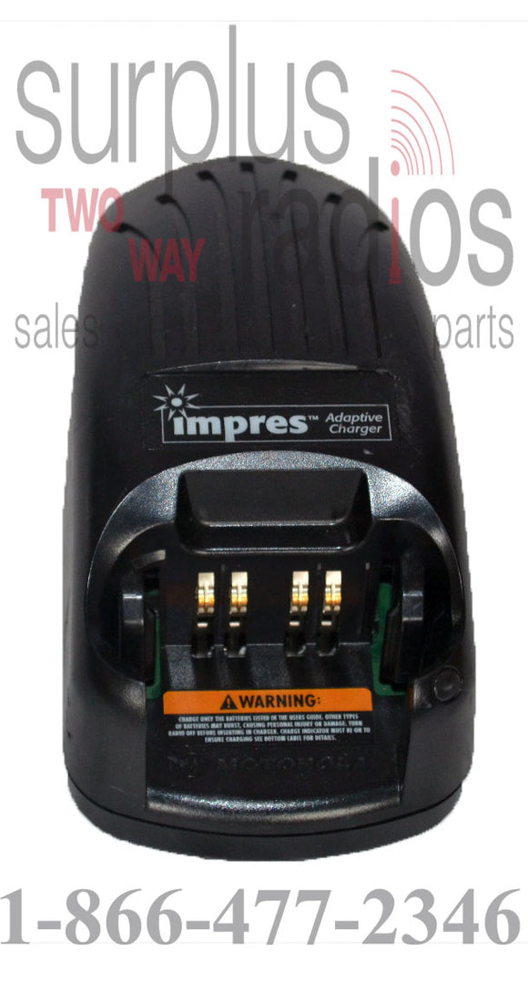 Motorola PMPN4135A (old: WPLN4114) Impress rapid rate charger for XTS series