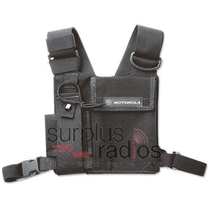 Motorola adjustable chest pack for portable radios