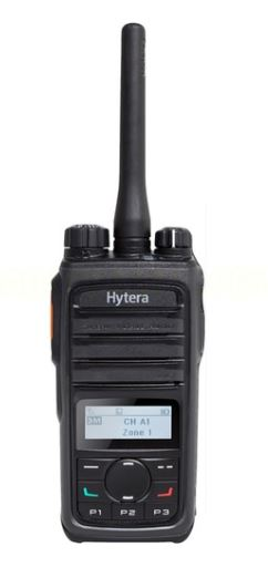 Hytera PD562i-U1 400-470 MHz UHF 4 watt 512 channel 32 zone dual mode digital/analog display DMR portable radio with M1 audio