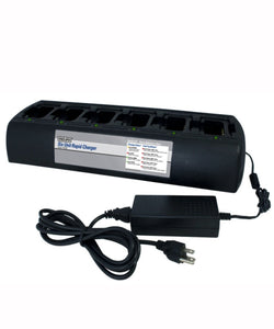 Power Products Endura 6 UNIT charger station for KENWOOD TK2300 TK3300 TK3402 TK2302 TK2212 TK3312 and more