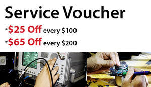 Repair and programming service voucher