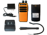 SRcommunications SR-D1U 400-470MHz 256 channels 16 zone 4W digital/analog DMR portable radio