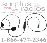 Single ear headset E395 K1 with push to talk for Kenwood TK3160 TK372 TK2160 TK272 TK3170