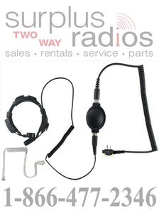 Throat mic headset E868 S6 for Icom F21 F3001 F4001 F3011 F14 F24 F4021 F3101D F43 F3G and more