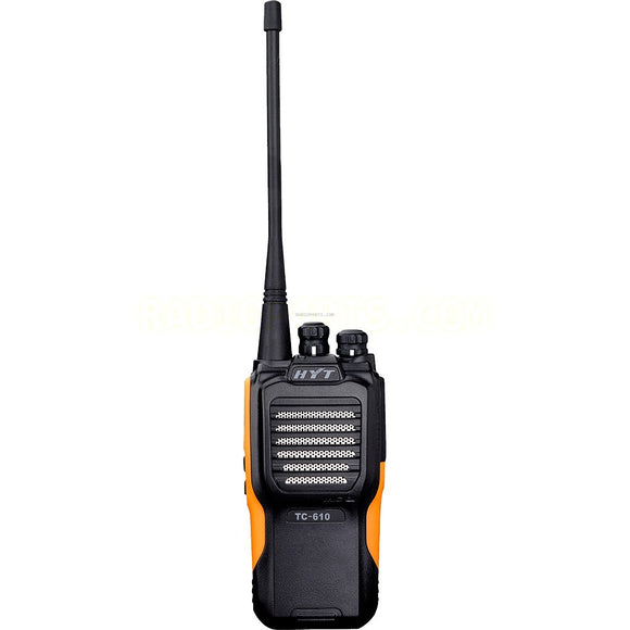 Hytera TC-610P-2TONE-V2 136-174 MHz VHF 5 watt 16 channel analog portable radio