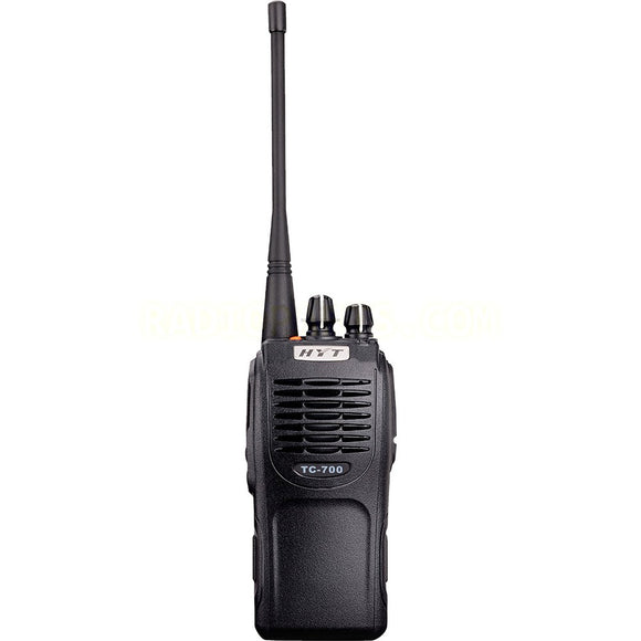 Hytera TC-700V 136-174MHz VHF 5 watt 16 channel analog portable radio