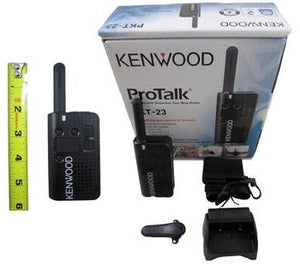 Kenwood PROTALK PKT-23 UHF 1.5 Watt 4 Channel Two Way Radio