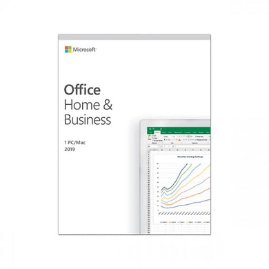 Microsoft Office 2019 - Home and Business - For Mac or PC