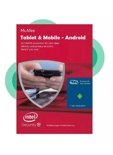 Download McAfee 2020 Android Tablet & Mobile Internet Security Antivirus 1 Year