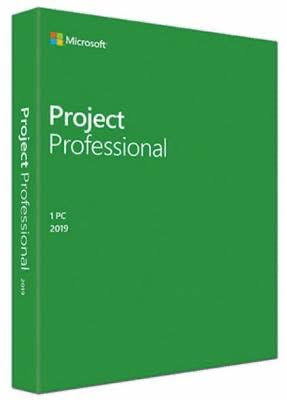 Microsoft Project 2019 Professional 1 User License - For Windows