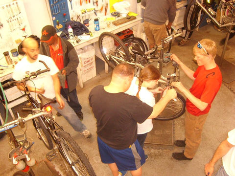One Hour of Fix-your-Bike open shop hours