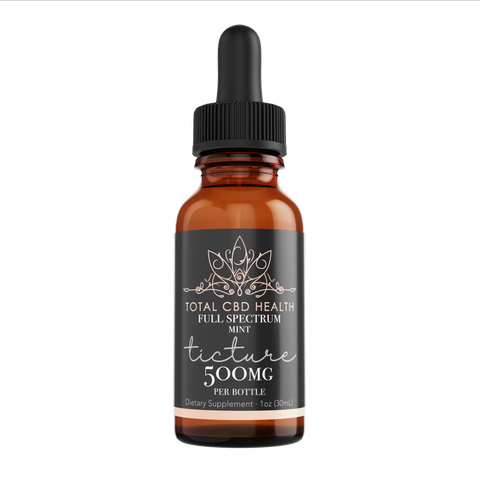 500mg Full Spectrum Tincture Drops