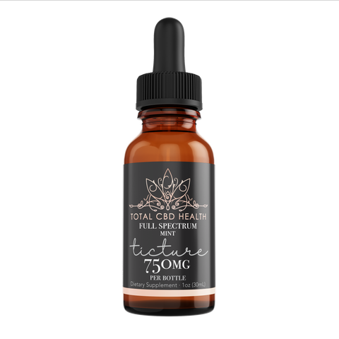 750mg Full Spectrum Tincture Drops