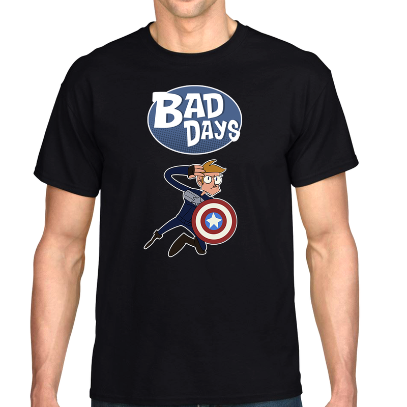 "Bad Days Captain America ""Limited Edition"" T-Shirt"