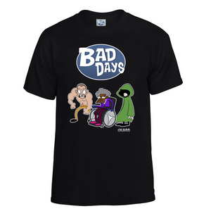 "(Featured Special) Bad Days Glass ""Limited Edition"" T-Shirt"