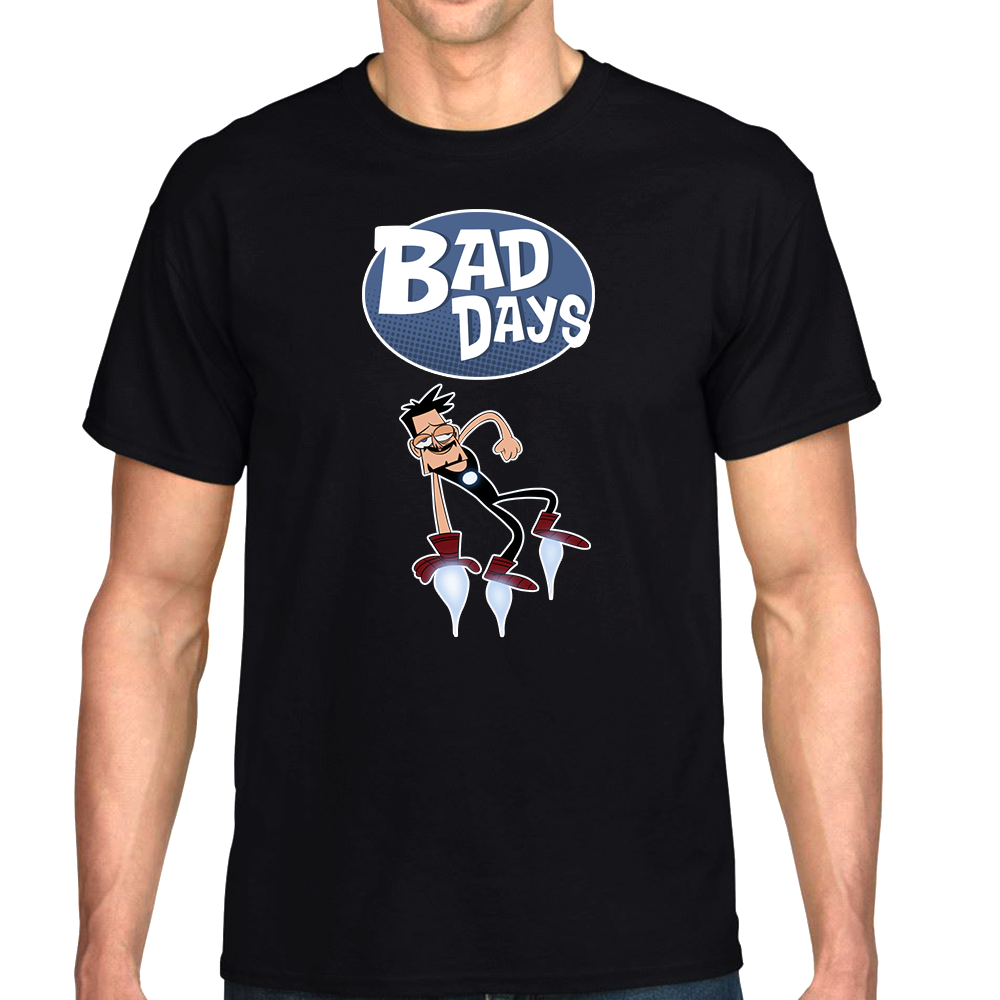 "Bad Days Tony Stark Flying ""Limited Edition"" T-Shirt"