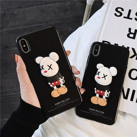 KAWS x MICKEY Phone Case - The Impulse Market