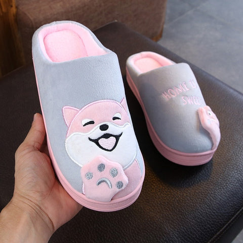 SHIBA INU Bedroom Slippers - The Impulse Market