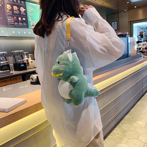 Dino Chibi Plushy Bag - The Impulse Market