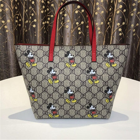 Mickey Inspired Gucci Tote