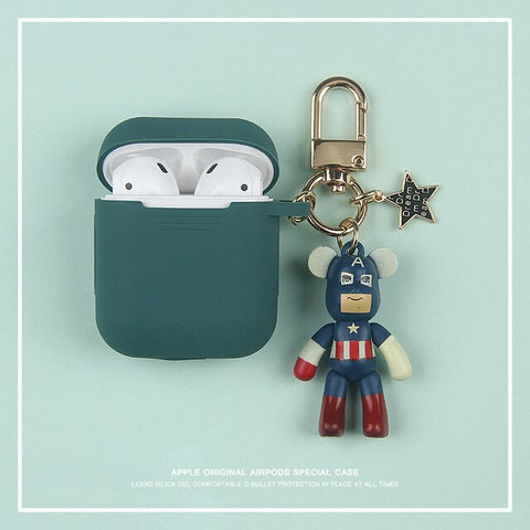 BEAR BRICKS SET Airpods Case - The Impulse Market