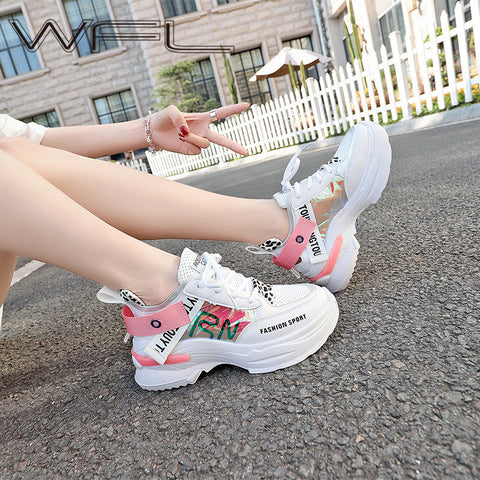 Stylish Platform Sneakers