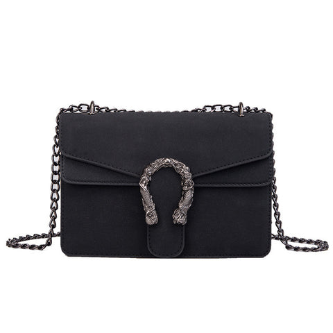 GUCCI Dionysus Inspired Flap Bag in Suede with Chain - The Impulse Market