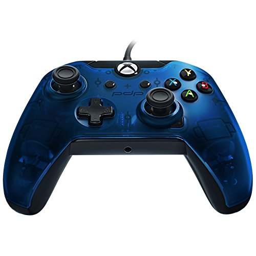 PDP Wired Controller for Xbox One, Xbox One X and Xbox One S, Midnight Blue