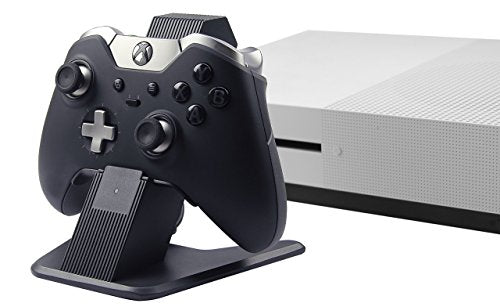 AmazonBasics Aluminum Charging Stand for Xbox One, Xbox One S, and Xbox One X Controllers - Black