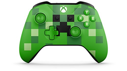 Xbox One Wireless Controller (Bulk Packaging) (Minecraft Creeper)