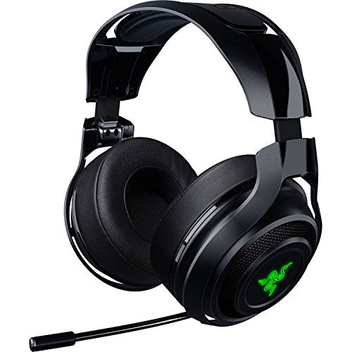 Razer ManO'War: Wireless 7.1 Surround Sound - 2.4 GHz Wireless Technology - Quick Action Controls - Unidirectional Retractable Mic - Gaming Headset Works with PC, PS4, Xbox One