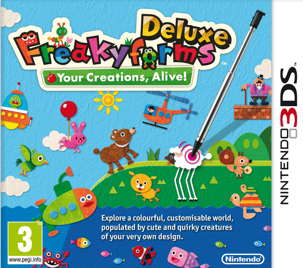 Freakyforms Deluxe: Your Creations, Alive!