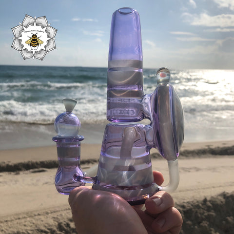 """CFL Encalmo Series"" by Meade Made Glass #1 of 4"