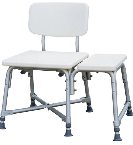 Strange Medline Bariatric Heavy Duty Medical Transfer Bench With Ibusinesslaw Wood Chair Design Ideas Ibusinesslaworg