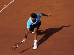Roger Federer showing his talent on clay - JustBall Tennis