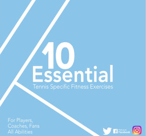 Tennis Specific Fitness Exercises EBook - JustBall Tennis