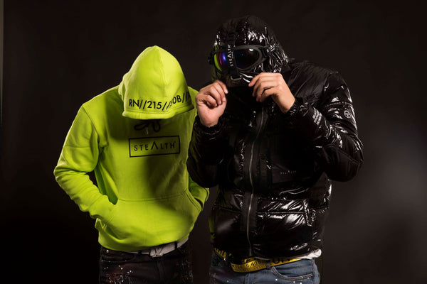Stealth London release the Summit Goggle Puffa Jacket.