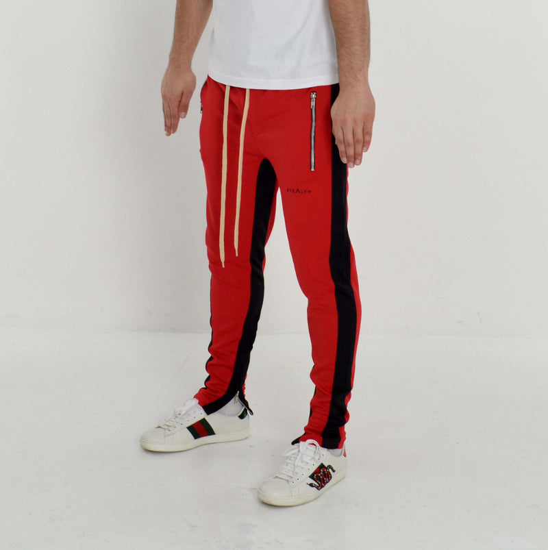 Vulcan Track Bottoms (Red/Black)